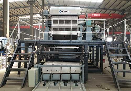 4000pcs Automatic Egg Tray Production Line to Iraq