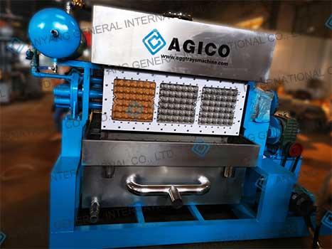 DT 3×4 egg tray machine